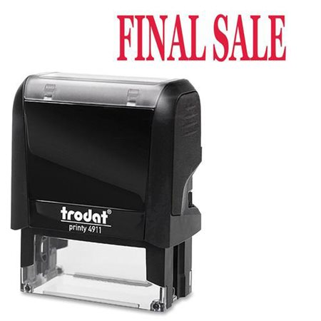 Timbre grand format auto-encreur Original Printy 4.0 4911 FINAL SALE