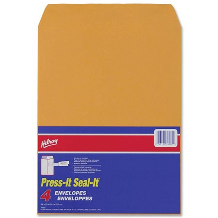 Enveloppe kraft Press-it Seal-it® 10 x 13 po (4)