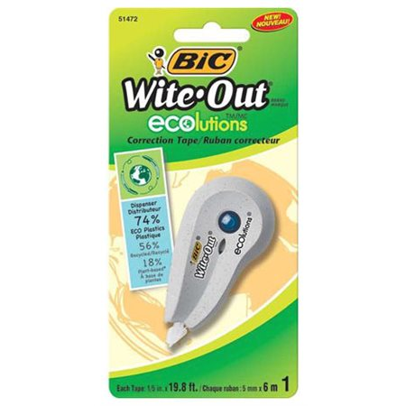 "Mini ruban correcteur ""Wite-out ecolutions"""