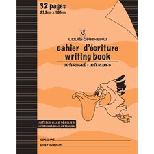 Cahier d'exercices orange