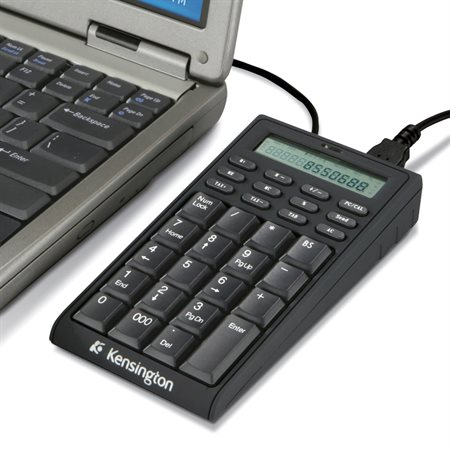 Clavier / calculatrice avec concentrateur USB