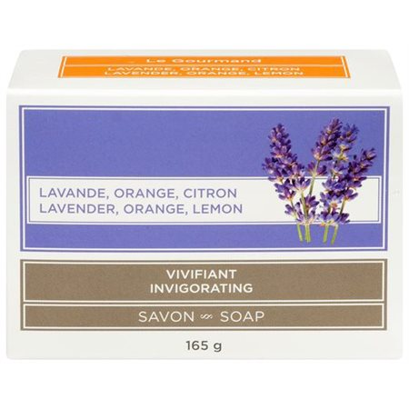 Savon lavande, orange et citron (165 g)