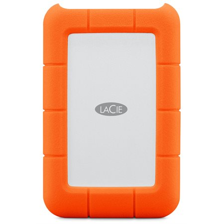 DISQUE DUR LACIE RUGGED 1TO - 2.5'' - USB TYPE C