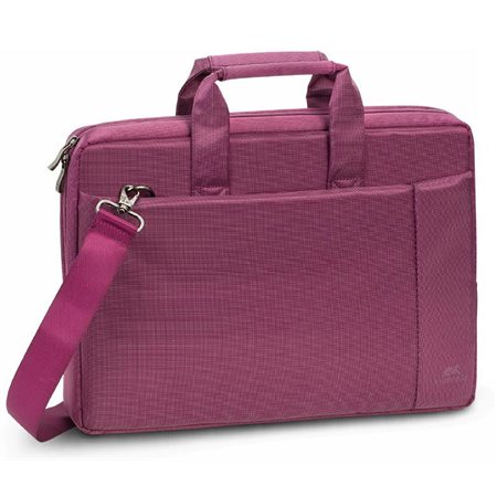 "Porte-documents pour portable 15.6"" mauve"