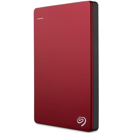 Disque dur portatif Backup Plus Slim 2 To rouge