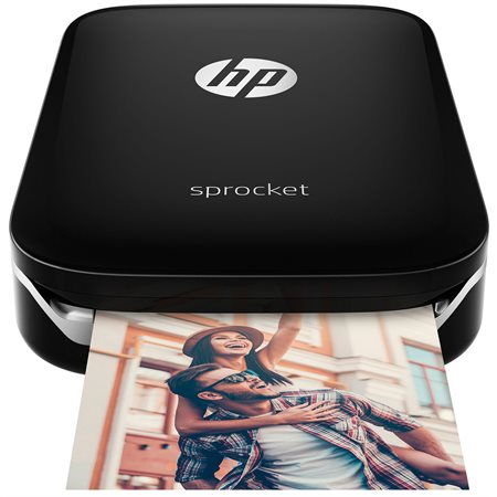 Imprimante HP Sprocket X7N08A noir