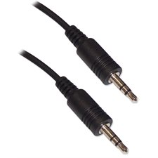 "CABLE AUDIO 1 / 8 STEREO M / M 3"" (BD)"