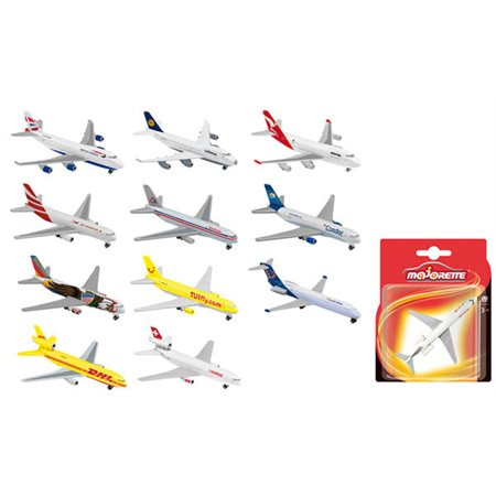 Majorette Avion license assortis