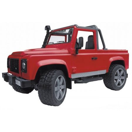 Bruder - Land Rover rouge