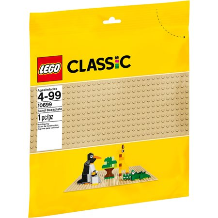 LEGO Classic : Plaque de base sable