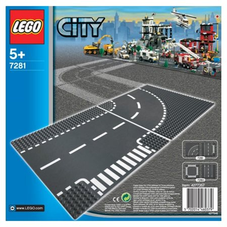 LEGO City : Carrefour et rails courbes