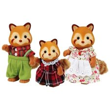 Calico Critters - Famille Panda Rouge