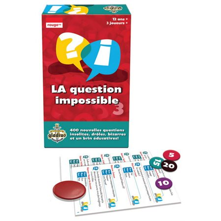 La question impossible - volume 3