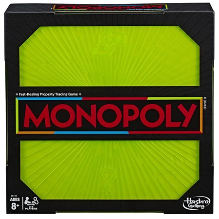Jeu Monopoly Neon pop Bilingue