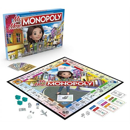 Jeu Ms. Monopoly Bilingue