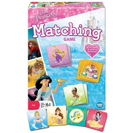Disney Princesses Matching
