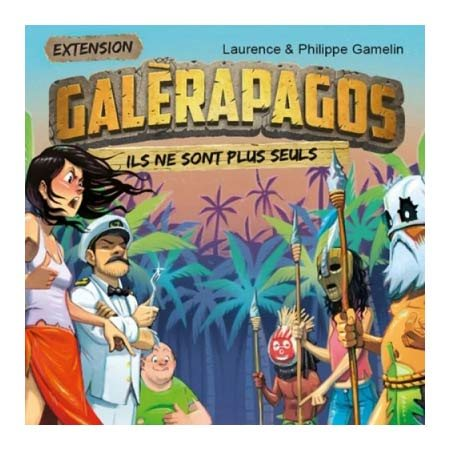 Galérapagos - Tribu et personnages