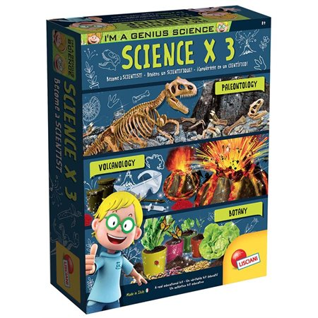 I'm a Genius - Coffret Scientifique x 3 (Bil.)