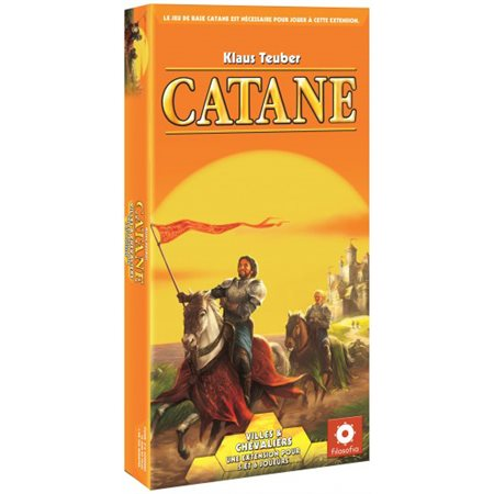 Catane - Extension villes & chevaliers