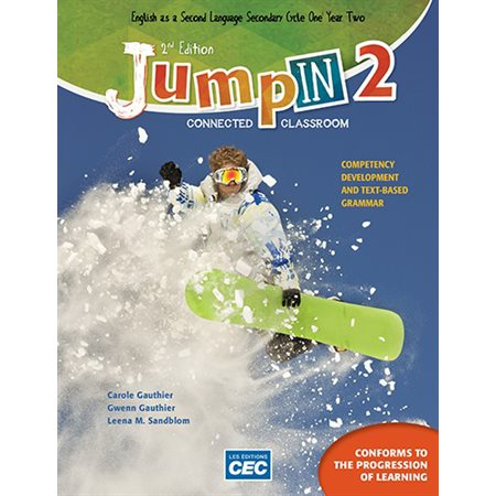 Jump In Sec. 2 - Content Workbook 2nd Ed. with Interactive Activities, print version + Student access, Web 1 year