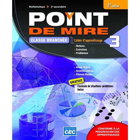 Point de mire Secondaire 3 Cahier d'apprentissage A version papier + accès web