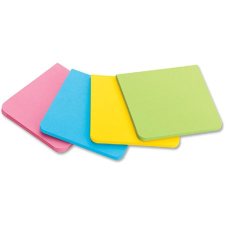 FEUILLETS SUPER COLLANTS POST-IT 2X2''