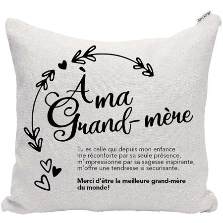 "Coussin ""Grand-Mère"""