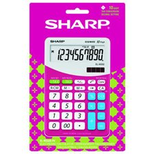 Calculatrice Sharp - rose