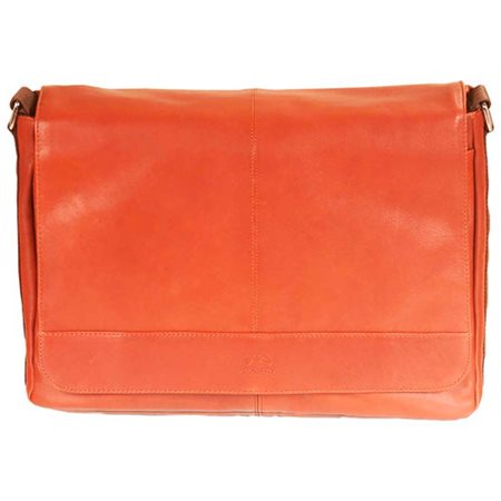 "Porte document portable 16"", Colombian cognac"
