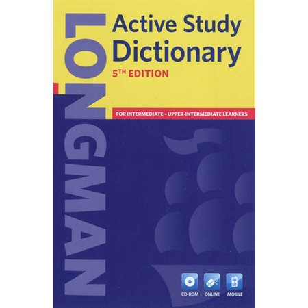 Active study Dictionary 5e édition  /  avec CD-Rom
