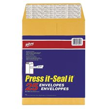 "Enveloppe kraft Press-it Seal-it® 9 x 12"" (25)"