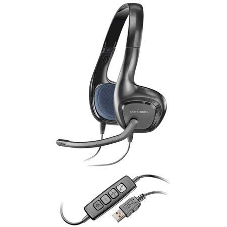 Buropro Casque Découte Sans Fil Pour Pc Audio 628 Usb