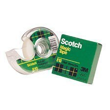 Ruban adhésif Scotch® Magic™ Dévidoir 18 mm x 33 m