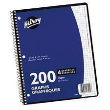 cahier spirale 200 pages
