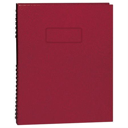 Livre de notes NotePro™ rouge