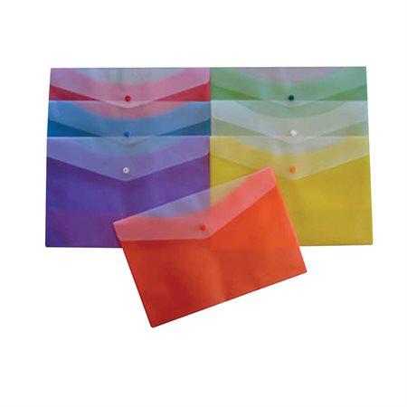 buropro enveloppe pour document format lettre couleurs vari es. Black Bedroom Furniture Sets. Home Design Ideas